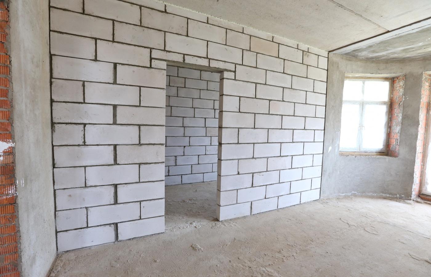 Возведение стен в квартире